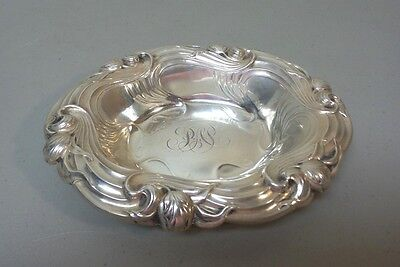 "Lovely Whiting Mfg. Co. Sterling Silver Art Nouveau Period 7"" Dish"