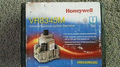 Universal Electronic Ignition Gas Valve Honeywell Vr8345M4302