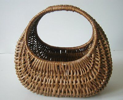 Vintage Wicker Basket, Storage