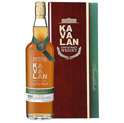 Kavalan Solist Amontillado Sherry Single Cask Strength Single Malt Whisky 750mL
