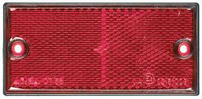 RCT560 RING Rectangular Red Rear Reflector ABS/PMMA [SIGNALLING]