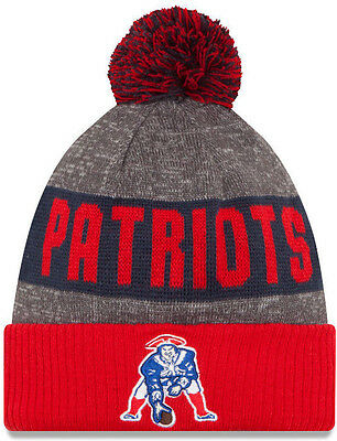 New England Patriots Beanie Knit Hat Offically Licensed By New Era And The NFL