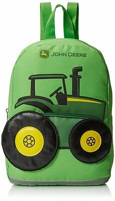 John Deere Toddler Boys Tractor Backpack Lime Green, One Size JFL287GT Free Ship