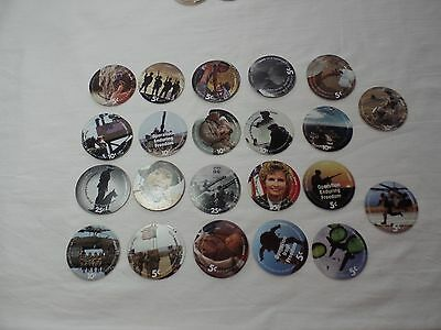 2006B AAFES Pogs lot of 37