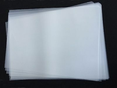 10 Sheets Inkjet Cold/Hot Peel Plastisol Heat Transfer Film Heat Iron Printing