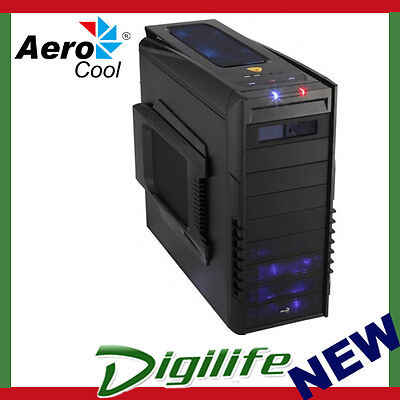 Aerocool Black Strike-X Advance Mid Tower PC Case (USB3)