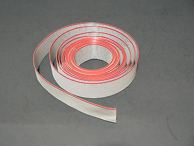 "10 FT 20 PINS 3M 3365/20SF GREY FLAT RIBBON CABLE 28AWG .05""/1.27mm PITCH S/FREE"
