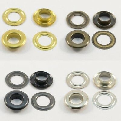 Eyelets 10mm New Stock,RUST-FREE,for Textile,Fabric,Leather,Plans,Curtains,Tents