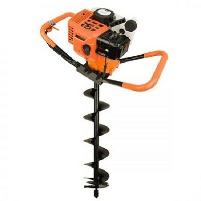 NEW Dynamic Power Pro-Series 72cc Post Hole Digger + 200mm Auger 1.2L Fuel Tank