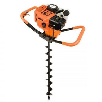 NEW Powerful 72cc Dynamic Power Petrol Two Stroke Post Hole Digger + 100mm Auger