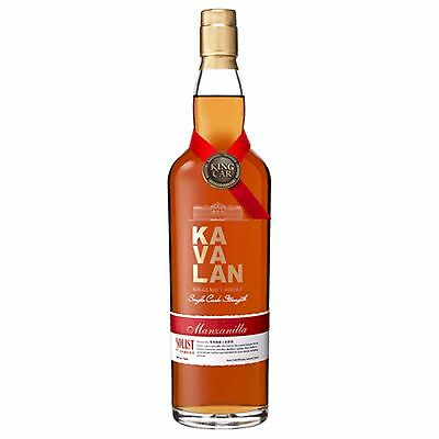 Kavalan Solist Manzanilla Sherry Cask Strength Single Malt Whisky 750mL