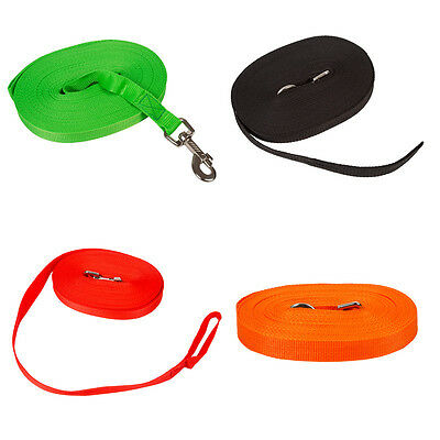 Dog Pet Puppy Training Obedience Recall Lead Tracking Leash Walking Rope Harness