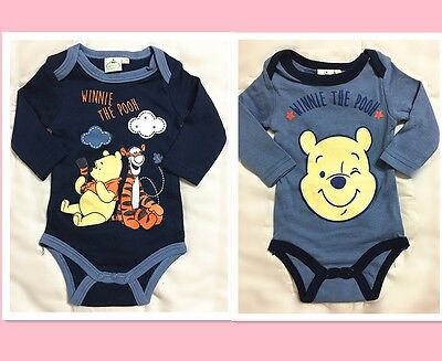 New Toddler Baby Romper One-Pieces Playsuit Outfits Clothing Boys Disney Winnie