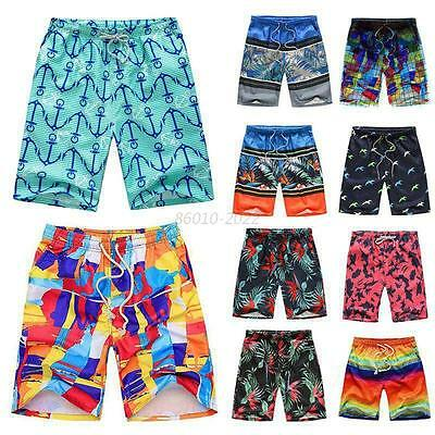 Men Surf Quick Surfing Board Shorts Water Sports Swim Beach Pool Trunks Shorts