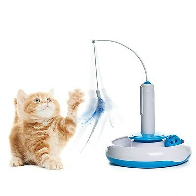 Pet Cat Toy Automatic Toys Kitten Cat Dog Playing Move Himself WITHOUT BATTERY