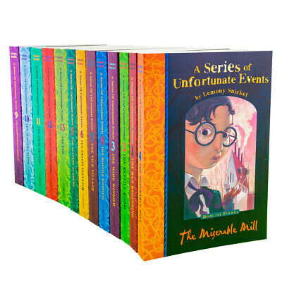 A Series of Unfortunate Events 13 Books Gift Set -  Lemony Snicket