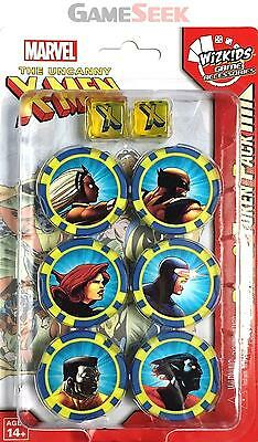Uncanny X-Men Dice And Token Pack: Marvel Heroclix - Toys/games Board Games New