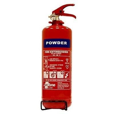 2KG ABC Dry Powder Fire Extinguisher Multi Purpose with Wall Fixing Bracket