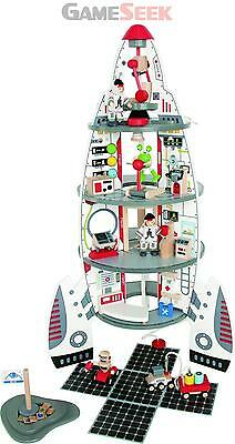 Hape Discovery Spaceship And Lift Off Rocket | Free Delivery Brand New