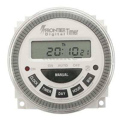 New AC 220V-240V Digital LCD Power Programmable Timer Electronic Time Switch