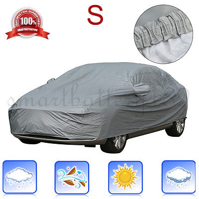 100% Waterproof Small Size Layer Full Car Cover Breathable UV Protection Outdoor