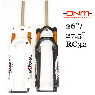 2015 DNM RC32 26/27.5 Double Chamber MTB Suspension Fork 100/120mm Manual/Remote