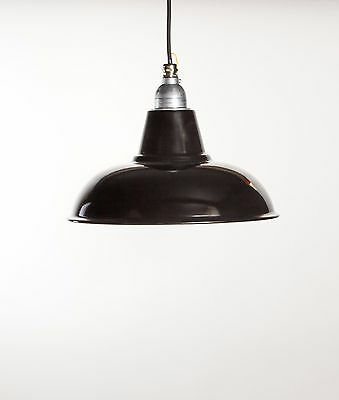 MORLEY - Factory Enamel Ceiling Pendant Light - Vintage Industrial