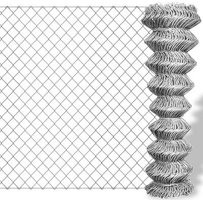 Chain Link Fence Outdoor Garden Patio Protection Durable High Quality Steel New