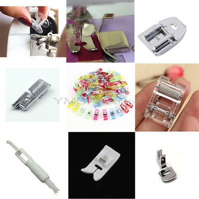 New Domestic Sewing Machine Presser Foot Feet Part For Household Singer Part