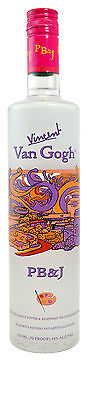 Vincent Van Gogh Peanut Butter and Jelly Flavoured Vodka 750mL