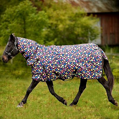Equine BUBBLE HEAVYWEIGHT COMBO TURNOUT RUG FULL NECK WATERPROOF WINTER ALL SIZE