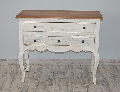Chest Of Drawers Rustic Cabinet Sideboard Vintage Retro Cupboard Country Style