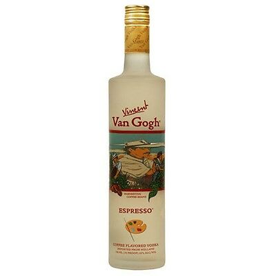 Vincent Van Gogh Espresso Vodka 750mL