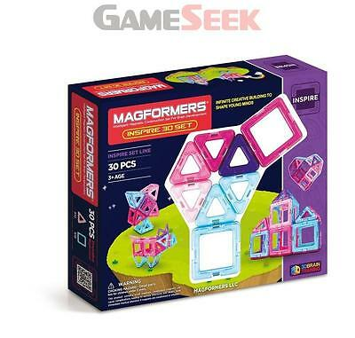 Magformers Inspire Set (30-Piece) - Toys Brand New Free Delivery