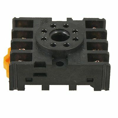 New 8 Round Pin 8-Pin PF083A Relay Base Socket LW