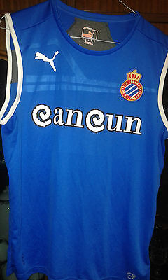 RCD Espanyol camiseta futbol football shirt S training