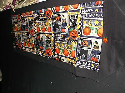 Handmade Halloween Table Runner 3 Piece Sets: Choice