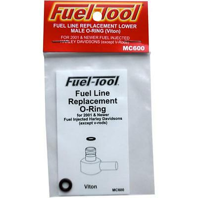 Fuel-Tool Fuel Line Lower Male End O-Ring for Harley 01-15 EFI Models MC600