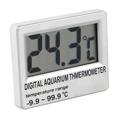 Digital LCD Aquarium Fish Tank Vivarium Meter Thermometer L6