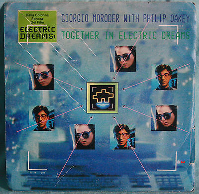 """Giorgio Moroder With Philip Oakey – Together In Electric Dreams - VINILE 7"""""""