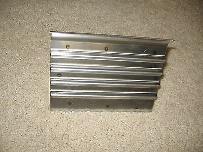 """Stainless Steel Safety Step Edger/Groover --  6"""" x 4 1/2"""" -- Concrete Tool"""