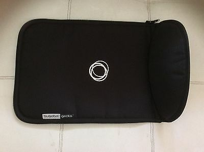 BUGABOO Gecko Stroller Color Black Carrycot Bassinet Apron Canvas Fabric