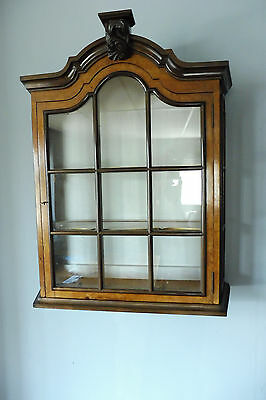 Antique Dutch wall cabinet Hanging cabinet Mahogany wood