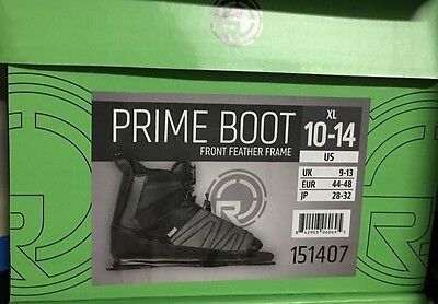 RADAR PRIME Front feather frame waterski boot binding XL Size 10-14 brand new