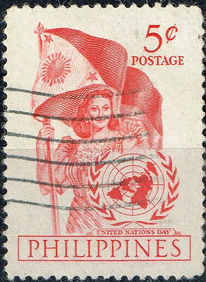 Philippines National Flag stamp 1950