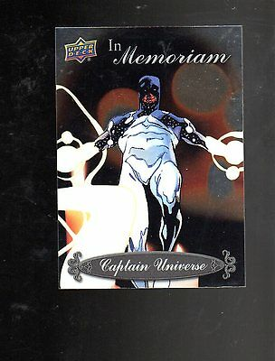 2015 Upper Deck Marvel Vibranium IN Memoriam IM-12 card