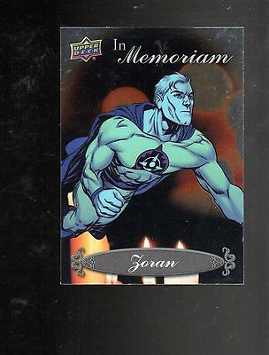 2015 Upper Deck Marvel Vibranium IN Memoriam IM-13 card