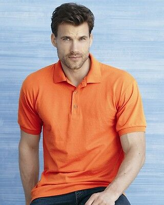 25 Blank Gildan DryBlend Jersey Polo 8800 Bulk Wholesale ok to mix S-XL & Colors