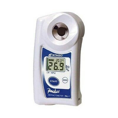 NEW Atago Pocket Refractometer PAL-1 Brix 0-53% Digital Hand HeldJAPAN F/S JJ327