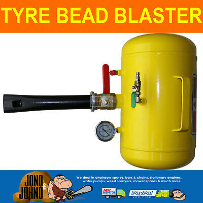 Tubeless Tyre Bead Blaster Inflator Seater Air Tool Truck Tractor 4WD 4X4 Car